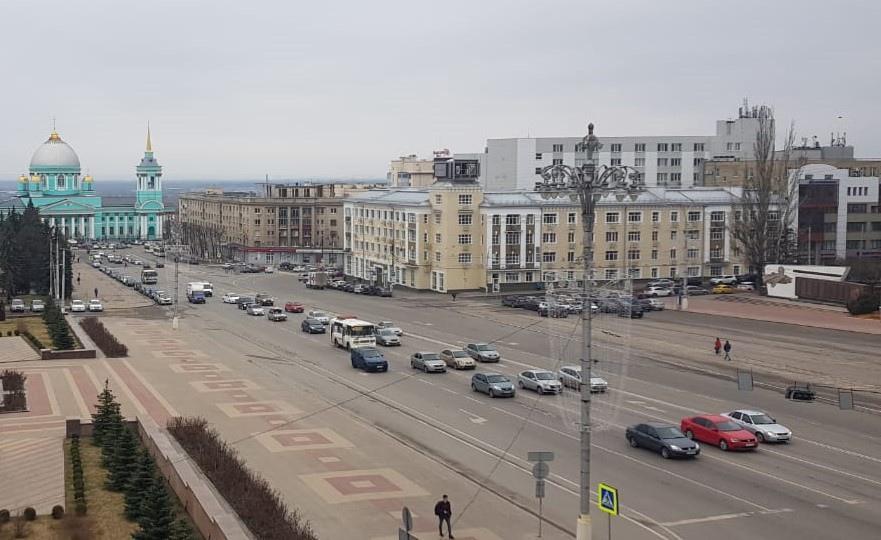 Завтра в Курске перекроют движение по улице Урицкого