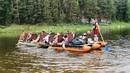 В конце мая прошёл масштабный эко-сплав от Туристического кластера «Гора Белая», в котором приняло участие более 100 человек.