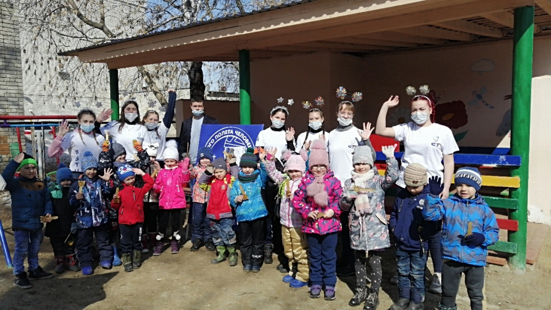 Студенты Петровского политеха провели конкурсную программу для дошколят