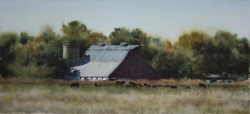 Американский художник-акварелист. Robert McFarland, изображение №2