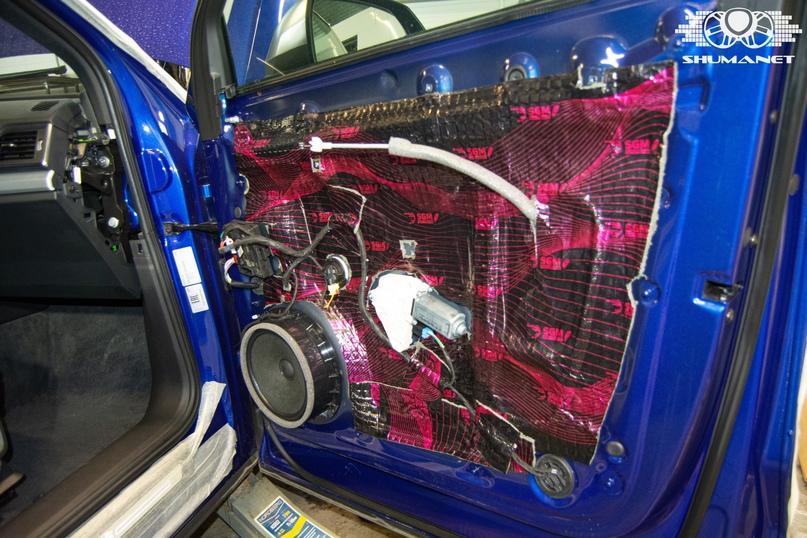 Комплексная шумоизоляция Audi Q5, изображение №17