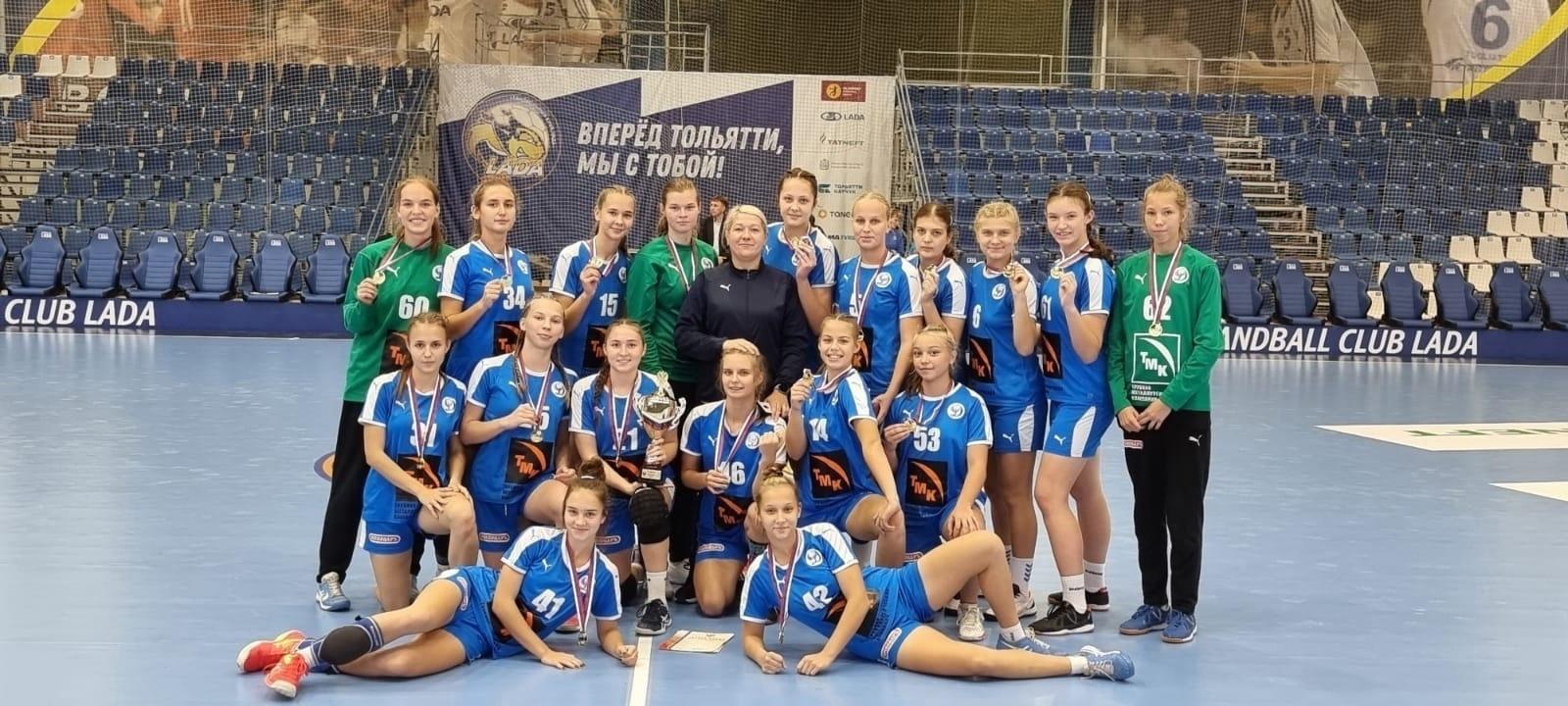 Команда Волгограда — чемпион России среди девушек 2005-06 г.р.