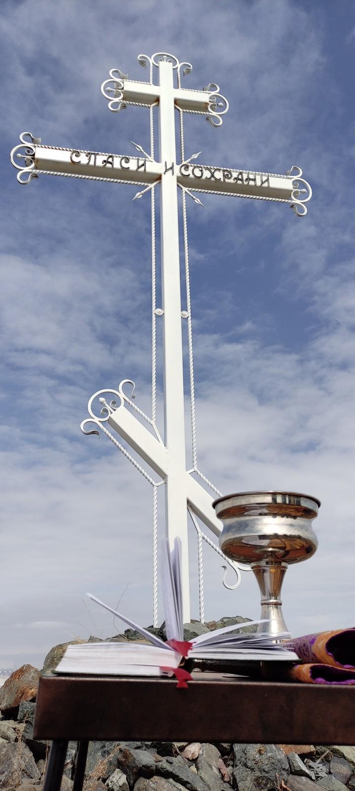 Казаки востановили поклонный крест., изображение №2