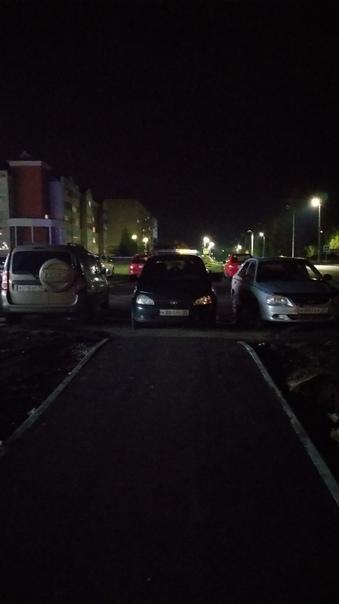 Нормально припарковался? А где пешеходам пройтить?...