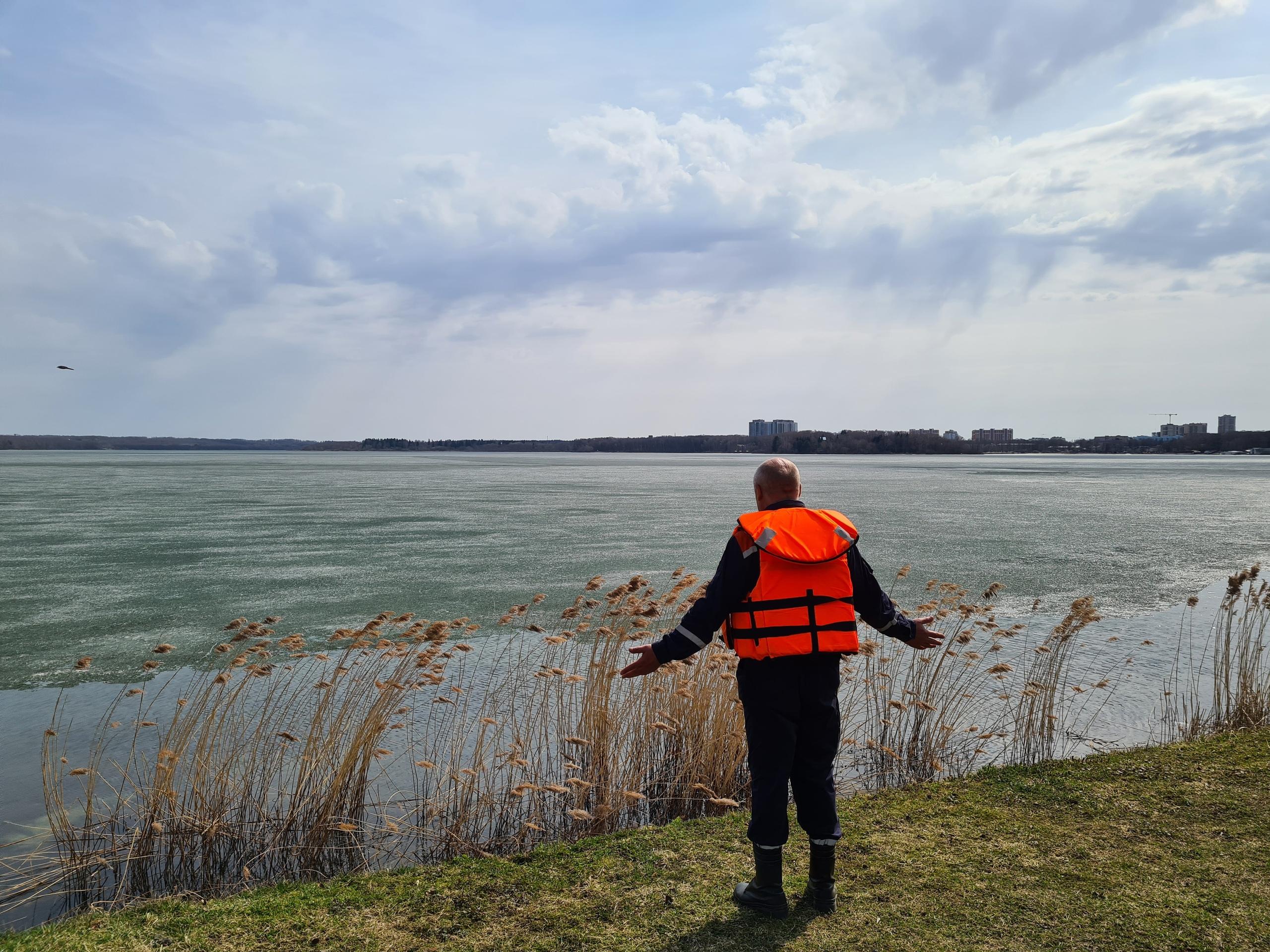 Спасатели выявили 9 водоемов с опасной толщиной льда