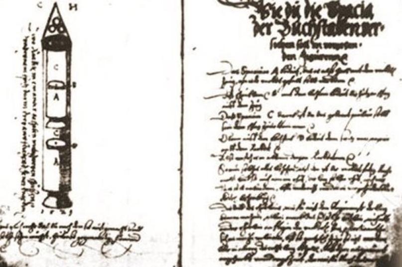 Ракеты XVI века: пилотируемые, многоступенчатые и с соплами, изображение №18