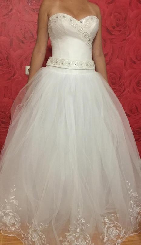 Купить свадебное платье. На фото без | Объявления Орска и Новотроицка №28497