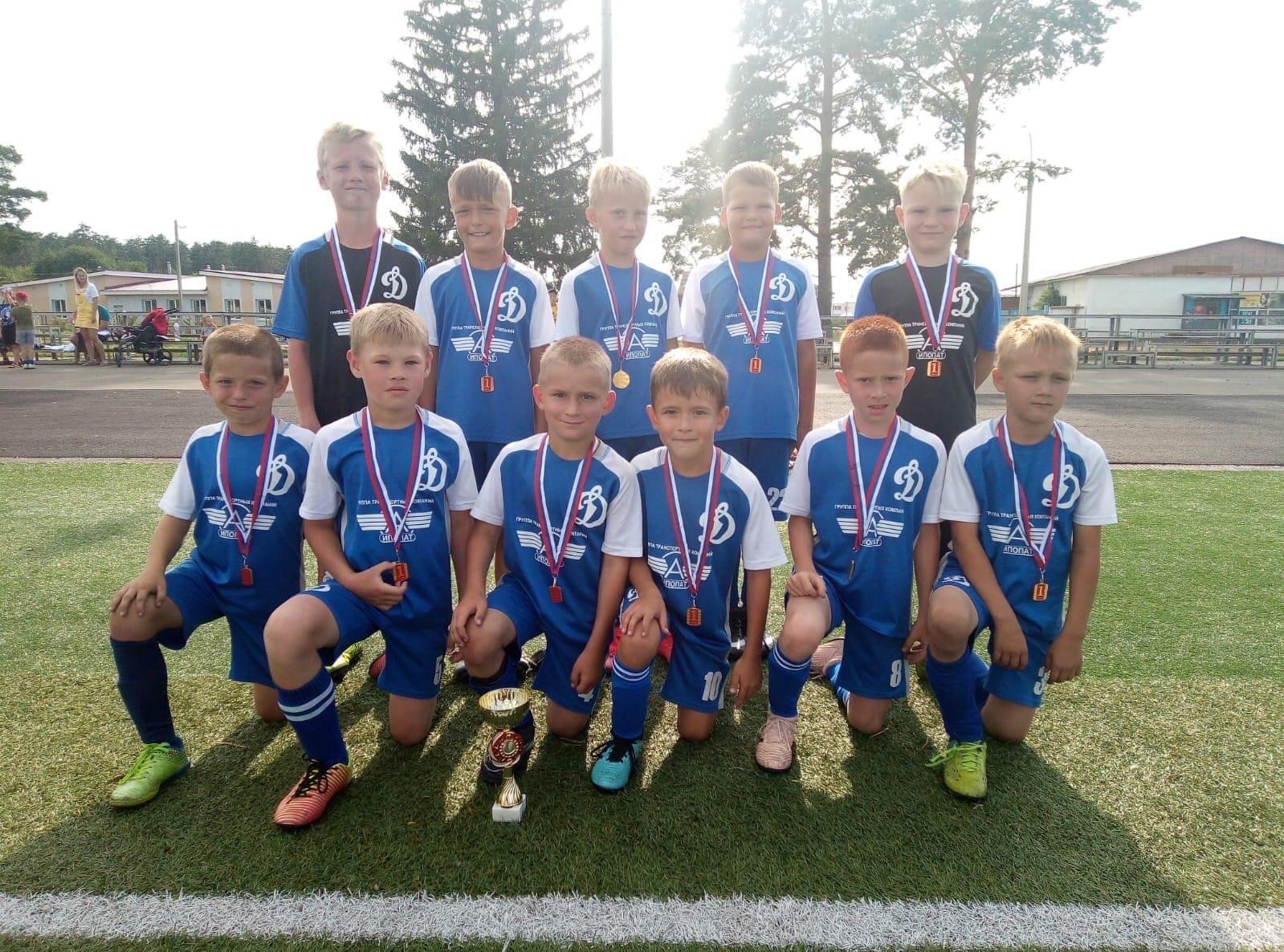 Юные «динамовцы» победители — детского мини-футбольного турнира