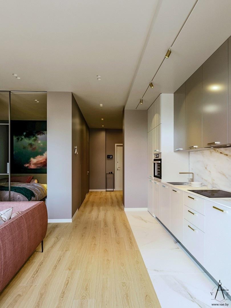 Проект квартиры 48 кв.