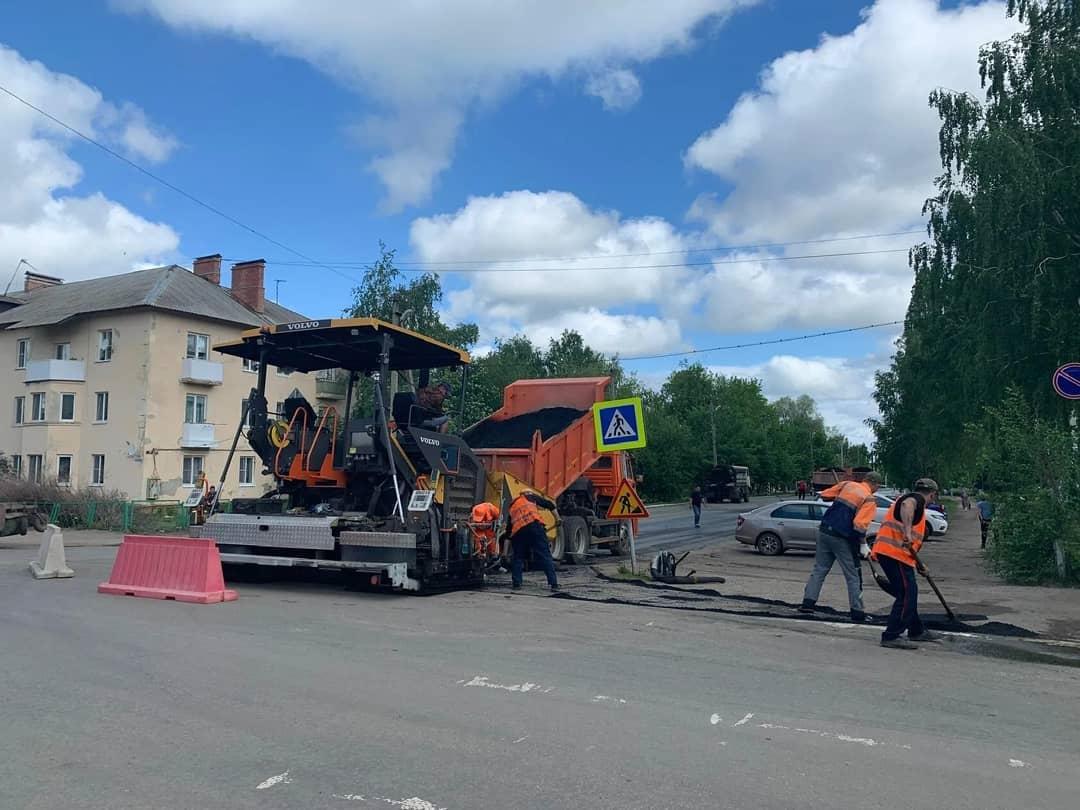 В Петровске на улице Советской начались ремонтные работы дорожного покрытия