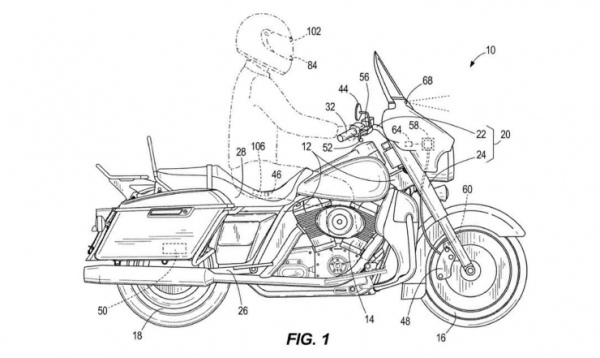 Harley-Davidson разрабатывают автоматические тормоза