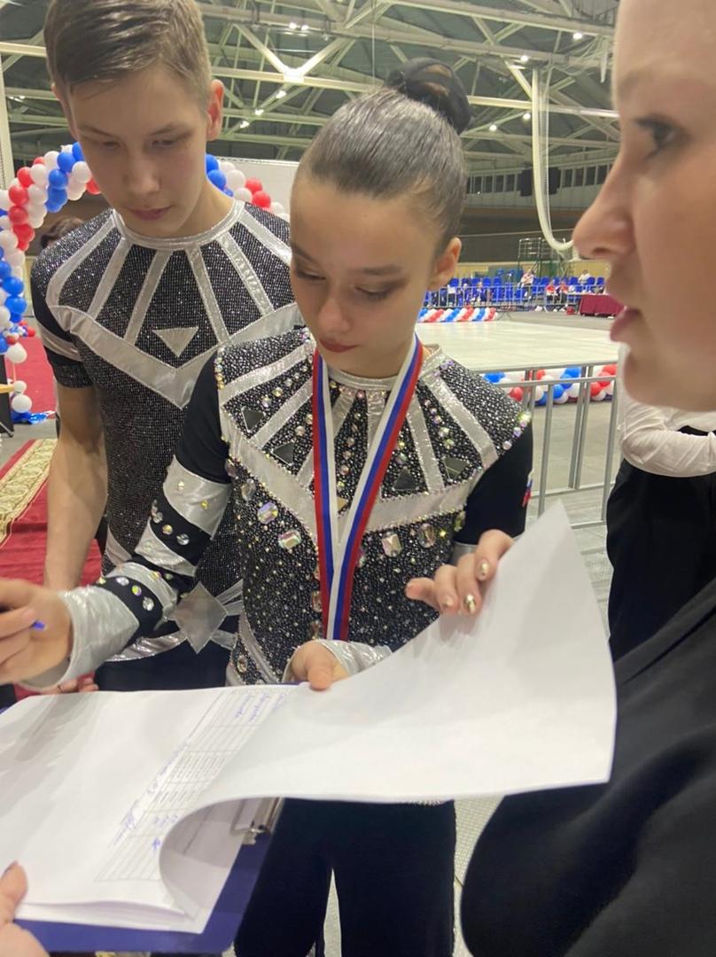 В городе Омск прошло Первенство России по спортивной аэробике