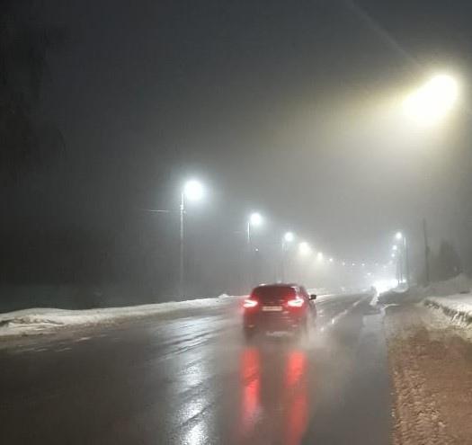 На улице Гремяченской в Курске установили 16 дополнительных фонарей