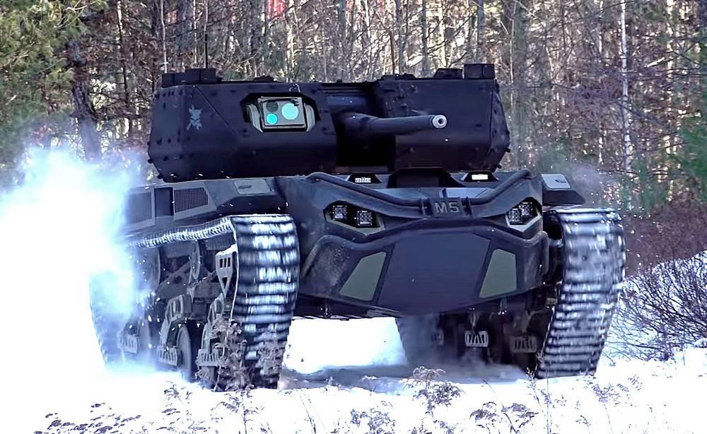Войны недалёкого будущего: американцы создают тяжёлых боевых роботов