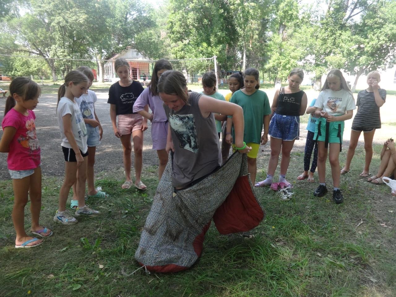 В детском лагере имени А. Гайдара прошёл день туризма