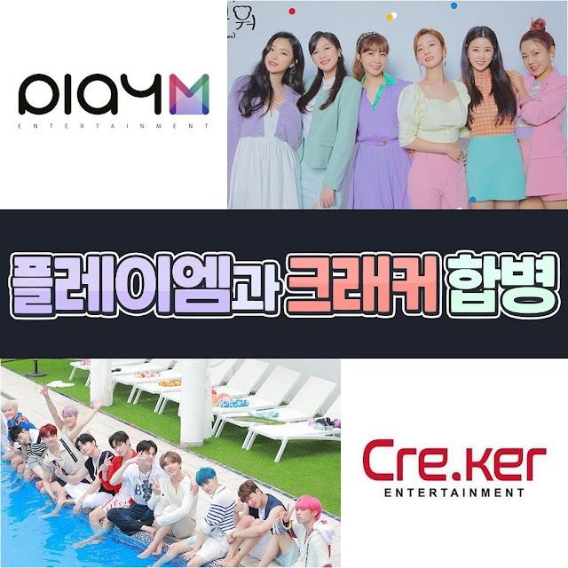 Play M и Cre.ker Entertainment объединяются, The Boyz становятся коллегами по ле...