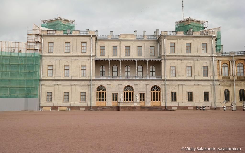 Большой гатчинский дворец, Гатчина 2020