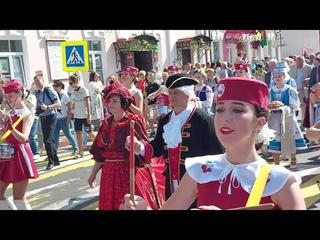 Торжественное шествие / IX Международный праздник «Вишневый фестиваль»/г.Глубокое/2021