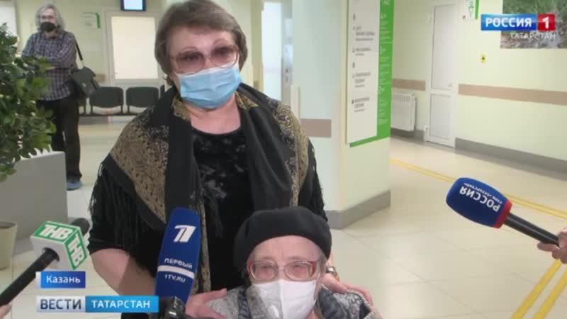 92 летняя Зинаида Бодрягина сделала вторую вакцину от коронавируса