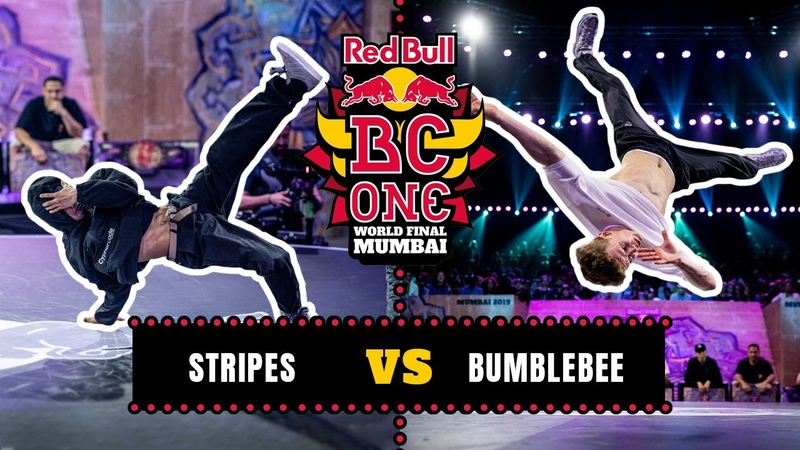 B-Boy Stripes vs B-Boy Bumblebee | Top 16 | Red Bull BC One World Final Mumbai 2019