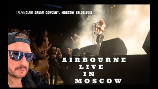 Airbourne - Live in Moscow)