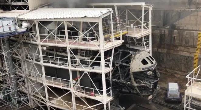 Последствия пожара на французской АПЛ Perle