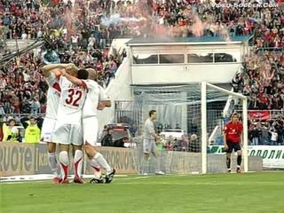 ЦСКА (Москва, Россия) - СПАРТАК 2:2, Чемпионат России - 2006