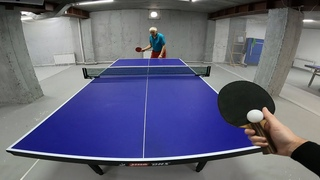 PING PONG FIRST PERSON TABLE TENNIS MY TRAINING WAY EP 2