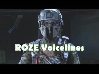 Fun fact_ Roze has the same voice actress as Salter from IW