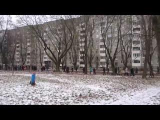 Колонна на улице Восточной, Беларусь