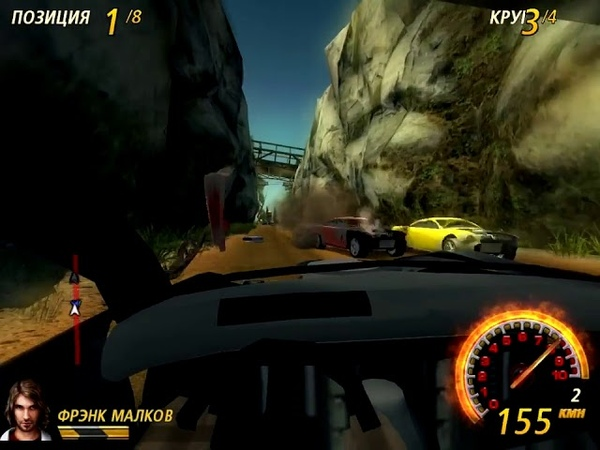 FlatOut 2. Most Wanted - Fantom Forty-Nine - Suicide Gorge