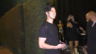Ross Butler leaves Tyga's birthday party at Delilah in West Hollywood