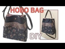 DIY 8 front pockets Hobo bag Bag making tutorial 앞포켓이 8개인 호보백 가방 만들기 Machen Sie eine Hobo Tasche