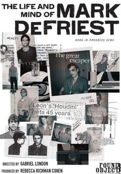 Марк ДеФрист Ему было всего 19, когда в 1980 году его арестовали по наводке мачехи за кражу инструментов. Он получил их в наследство от отца, прежде чем завещание успело ступить в силу. За это