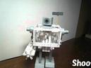 Paper Rubber Band Gatling Gun for Paper Robot  Paper Automata