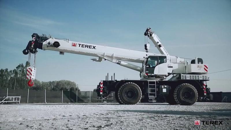 Вездеходный кран TEREX RT 90