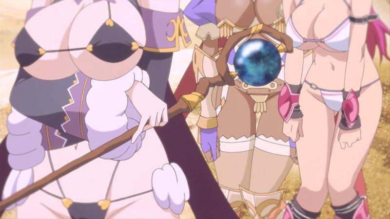 Bikini Warriors Special Воительницы в Бикини Спэшл 13 серия OVA ОВА Озвучка Torgil Cuba77 AniDub