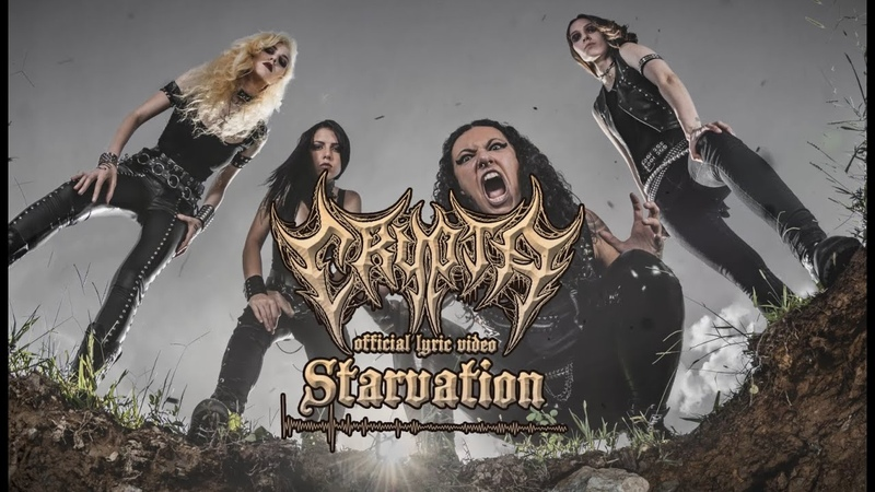 CRYPTA Starvation Official Lyric Video Napalm Records