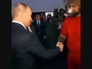 Путин и Назарбаев в Петропавловске