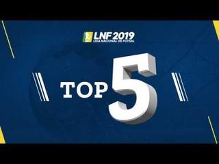 LNF2019 - Top 5 - Gols - 4ª Semana