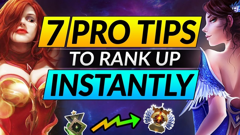 7 PRO Tips to RANK UP INSTANTLY in Dota 2 - GAIN EASY MMR with These Tricks - Advanced Guide