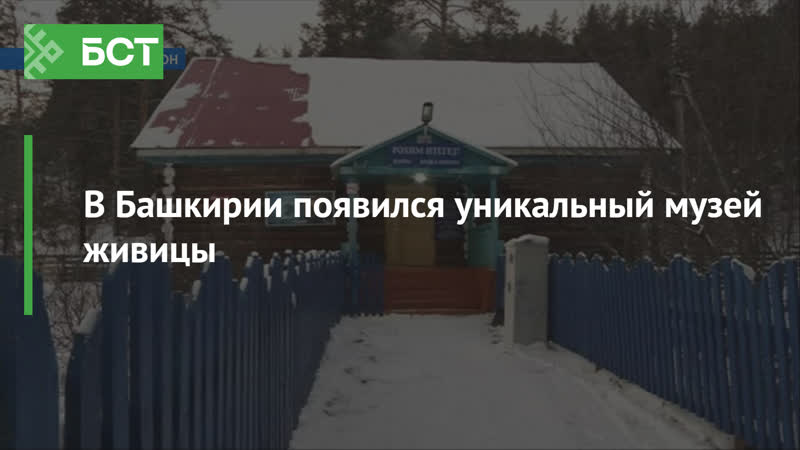 В Башкирии появился уникальный музей живицы