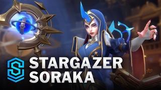 Stargazer Soraka Wild Rift Skin Spotlight