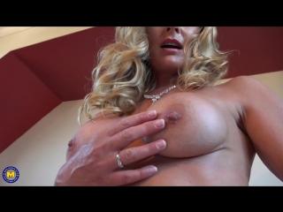 Elegant Eve - milf mature home room solo dildo boobs busty cum handjob мастурбация дилдо