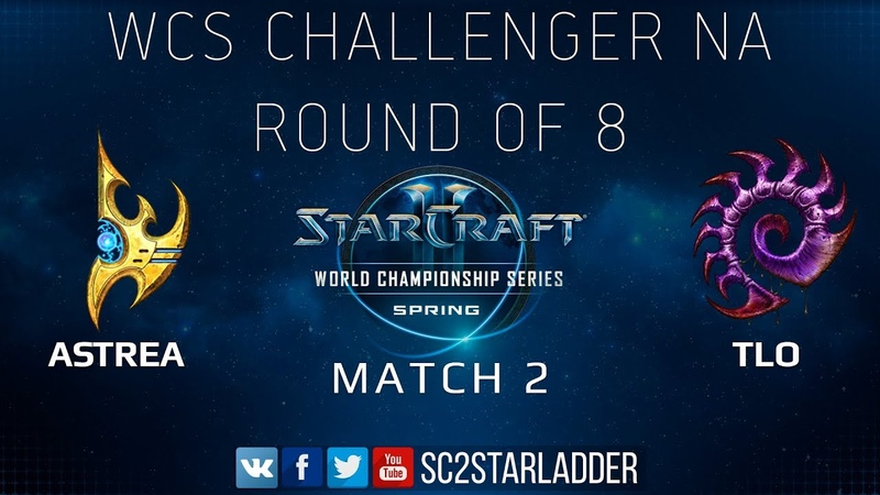 2019 WCS Spring Challenger NA - Ro8 Match 2: Astrea (P) vs TLO (Z)