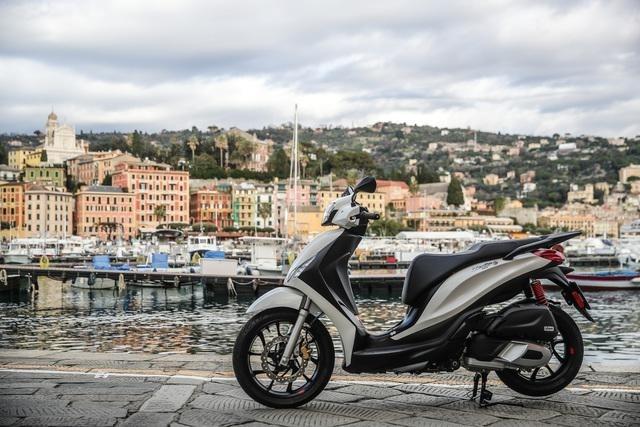Обновленный скутер Piaggio Medley 125 2020
