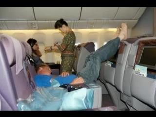 Самые странные и неадекватные пассажиры самолетов. The strangest and inadequate