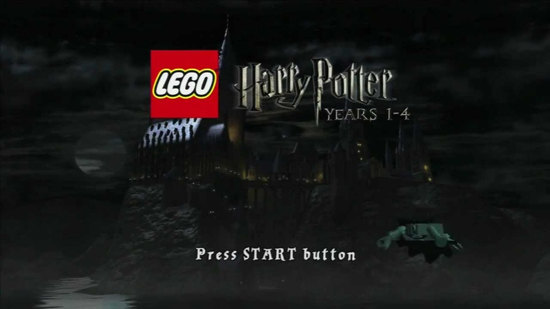 Lego Hairy Potter Years 1 4 Title Screen HD