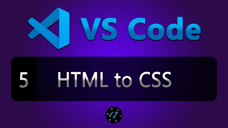 5 Аналог cssFier для VS Code расширение VS HTML to CSS для VS Code