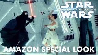 Star Wars The Rise of Skywalker Amazon Special Look (NEW FOOTAGE)